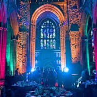 Gala Dinner in Manchester Cathedral